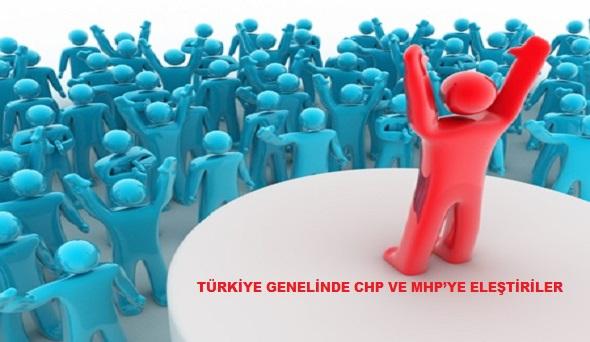Chp, Mhp, Mersin, Siyaset, Eleştiri, Habib Ekmekçi