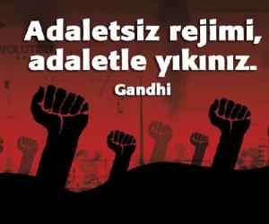 """AÇIKÇA UYARIYORUM: İÇ SAVAŞ ÇIĞIRTKANLIĞINI BIRAKIN. Ben adaletin peşindeyim, kim için veya kime karşı olduğu önemli değil."""" (Malcolm X). Bırakın adalet yerini bulsun isterse kıyamet kopsun.' (S. Freud)"""